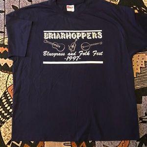 Vintage Bluegrass Folk Shirt VTG 90s EUC